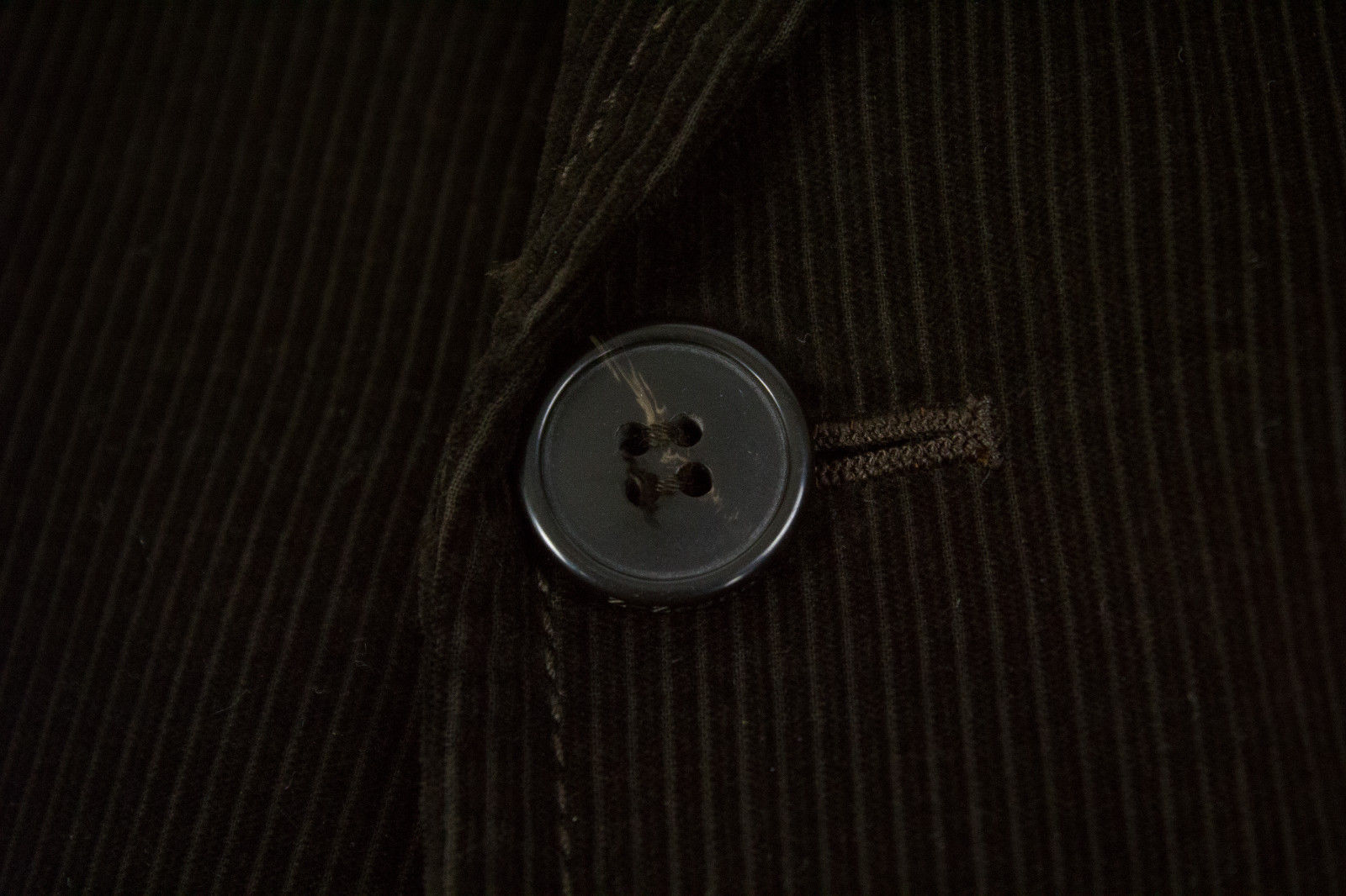 ERMENEGILDO ZEGNA Brown Corduroy 2 Button Sport Coat US 42R - secondfirst