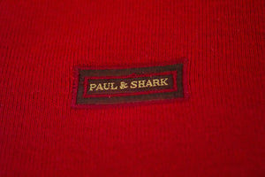 PAUL & SHARK Yachting Men's Wool Red Jumper, L - secondfirst