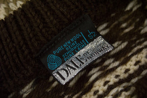 DALE OF NORWAY Chunky Wool Nordic Cardigan Size L - secondfirst
