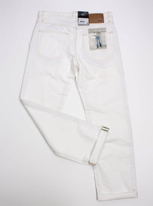 HUGO BOS Men's regular fit white jeans, 32/32 - secondfirst