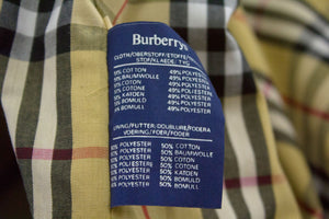 BURBERRY Vintage Classic Tan Brown Mac Coat Size USA 10L, EU 38 - secondfirst