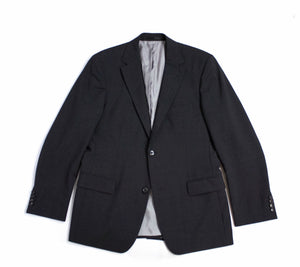HUGO BOSS Gray Wool Blazer, 42R US/EUR 52 - secondfirst