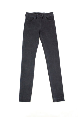 Acne Women's SKIN ROCCA Skinny Gray Jeans Size 26/32 - secondfirst
