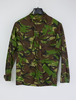 UK-Nato Camouflage Combat Military Jacket Shirt, Size S - secondfirst