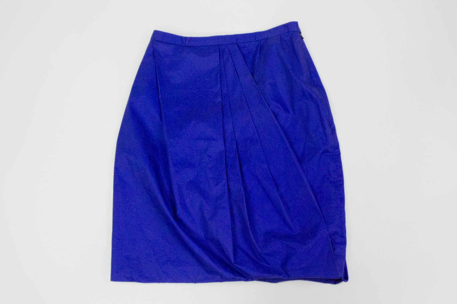 "ACNE ""Moholy"" blue draped skirt, S - secondfirst"