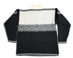 NORWOOL MEN'S NORDIC WOOL JUMPER SWEATER, L - secondfirst
