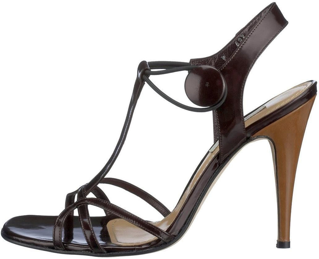 MALENE BIRGER Stiletto Heel Strappy Sandals, US6.5/ EU37/ UK4 - secondfirst