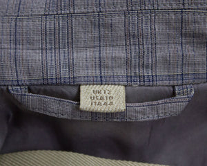 BURBERRY BRIT Cotton/Linen Blazer, USA 10,UK 12, EU 38, L - secondfirst