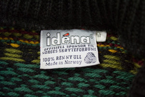 IDENA Wool Chunky Nordic Jumper Sweater, M - secondfirst