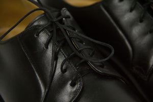 "EDUARD MEIER ""PEDUFORM"" Black Derby Shoes Size UK 11 B (USA 12/EU 46) - second_first"