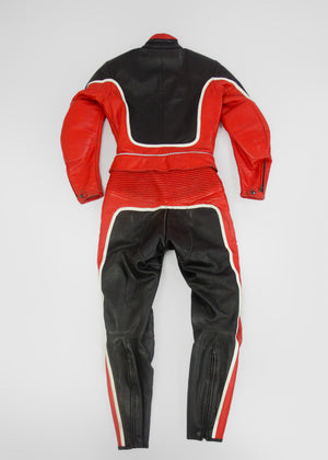 DAINESE Leather 2 Piece Motorcycle Biker Suit XS - secondfirst