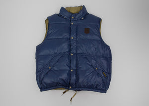 POLO RALPH LAUREN men's Blue Puffer Down & Feather Vest Gilet SIZE XXL - secondfirst