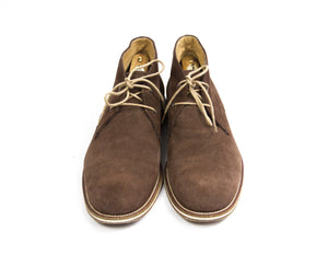 TOD'S No_Code Brown Suede Leather Desert Boots SIZE UK 7, US 8, EU 41 - secondfirst