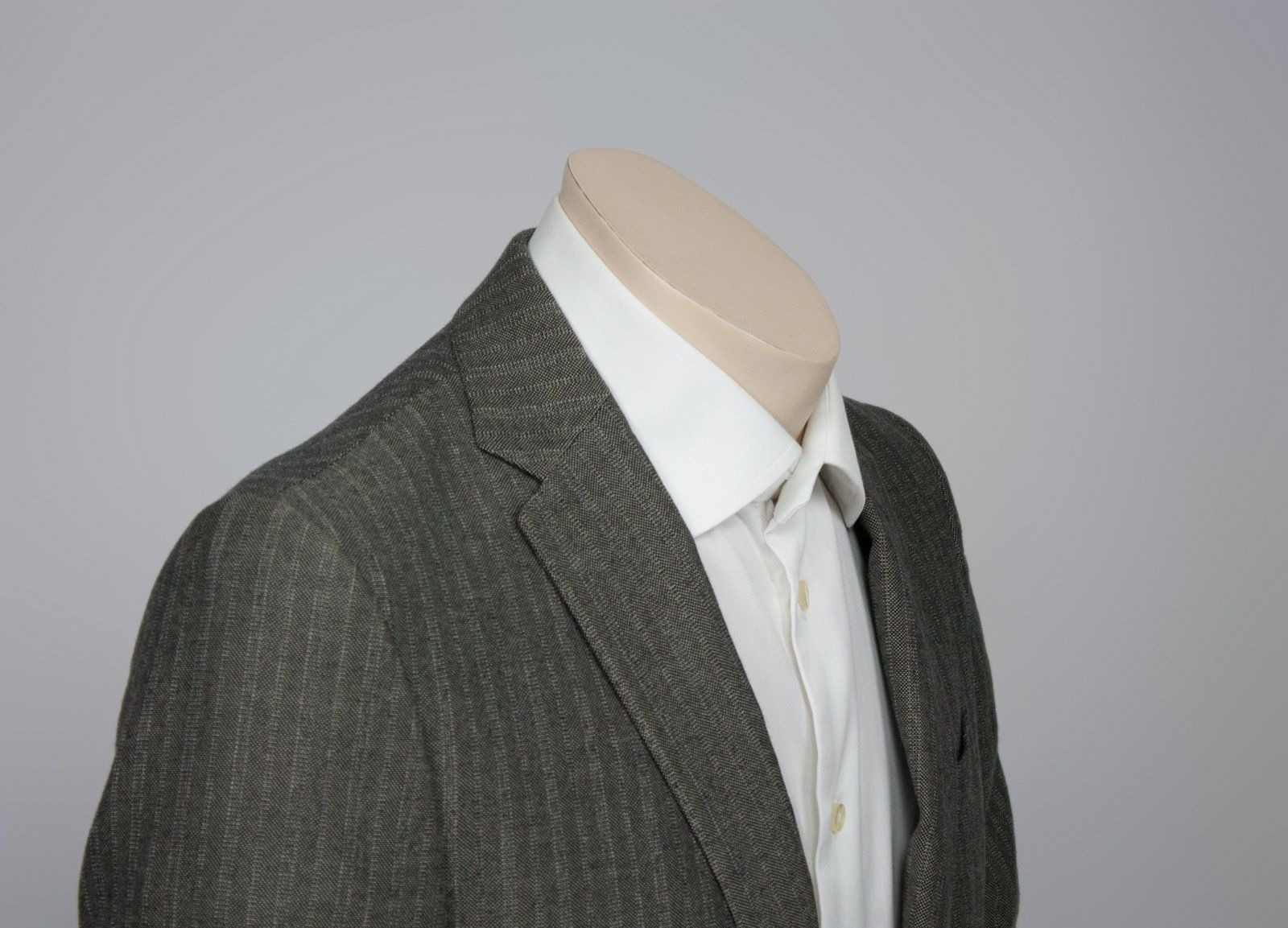 CORNELIANI Trend Gray  Wool/Cotton Blazer Jacket, US 38R/EU 48R - secondfirst