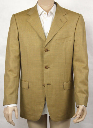 ERMENEGILDO ZEGNA Trofeo Wool 3 Button Blazer US 40R, EUR 50 - secondfirst