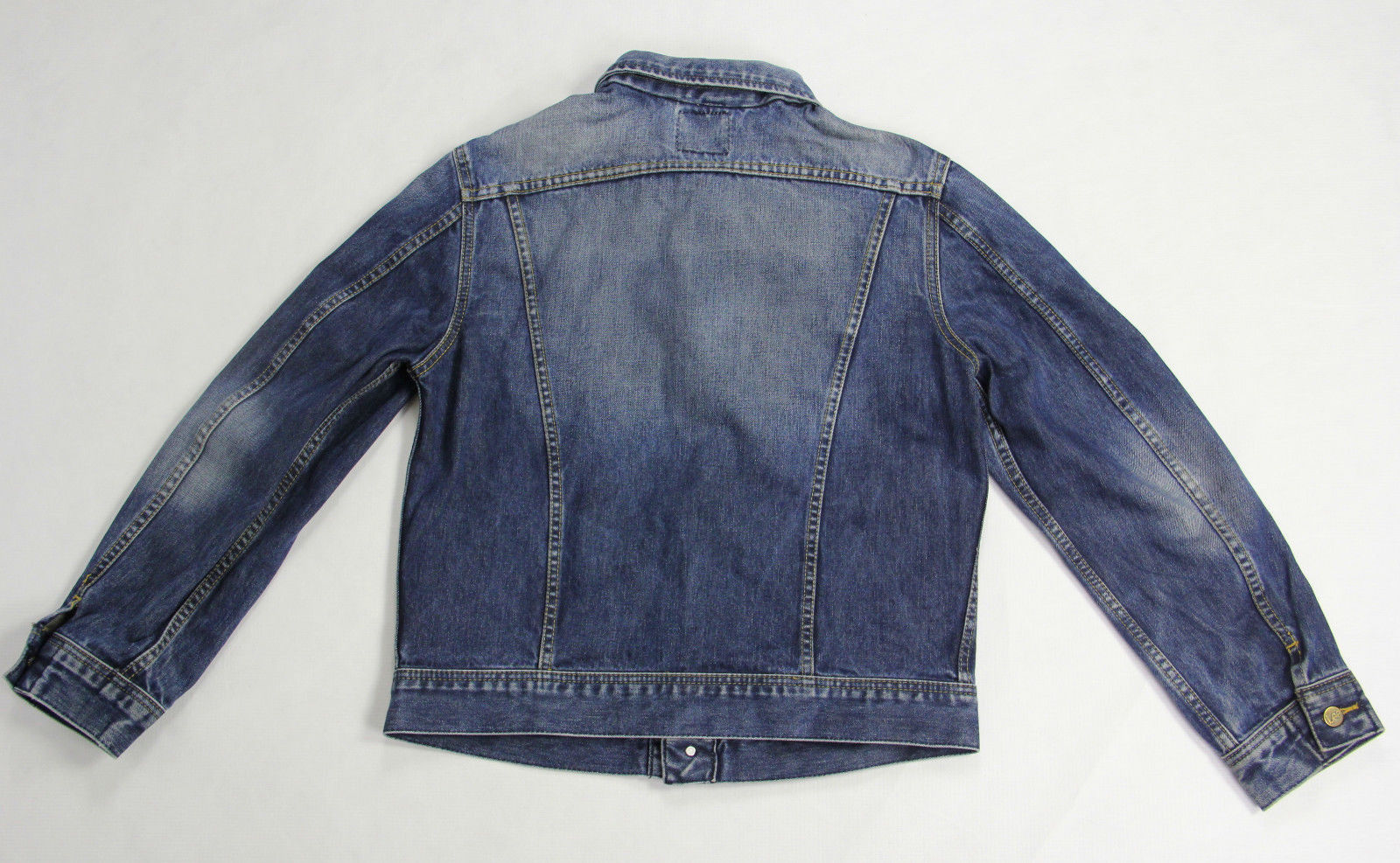 LEE Women's Blue Denim Trucker Style Jacket, SIZE XL - secondfirst