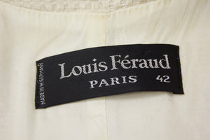 LOUIS FERAUD Paris SILK Blazer, IT 42 (US 8, EU 36, UK 10) - secondfirst