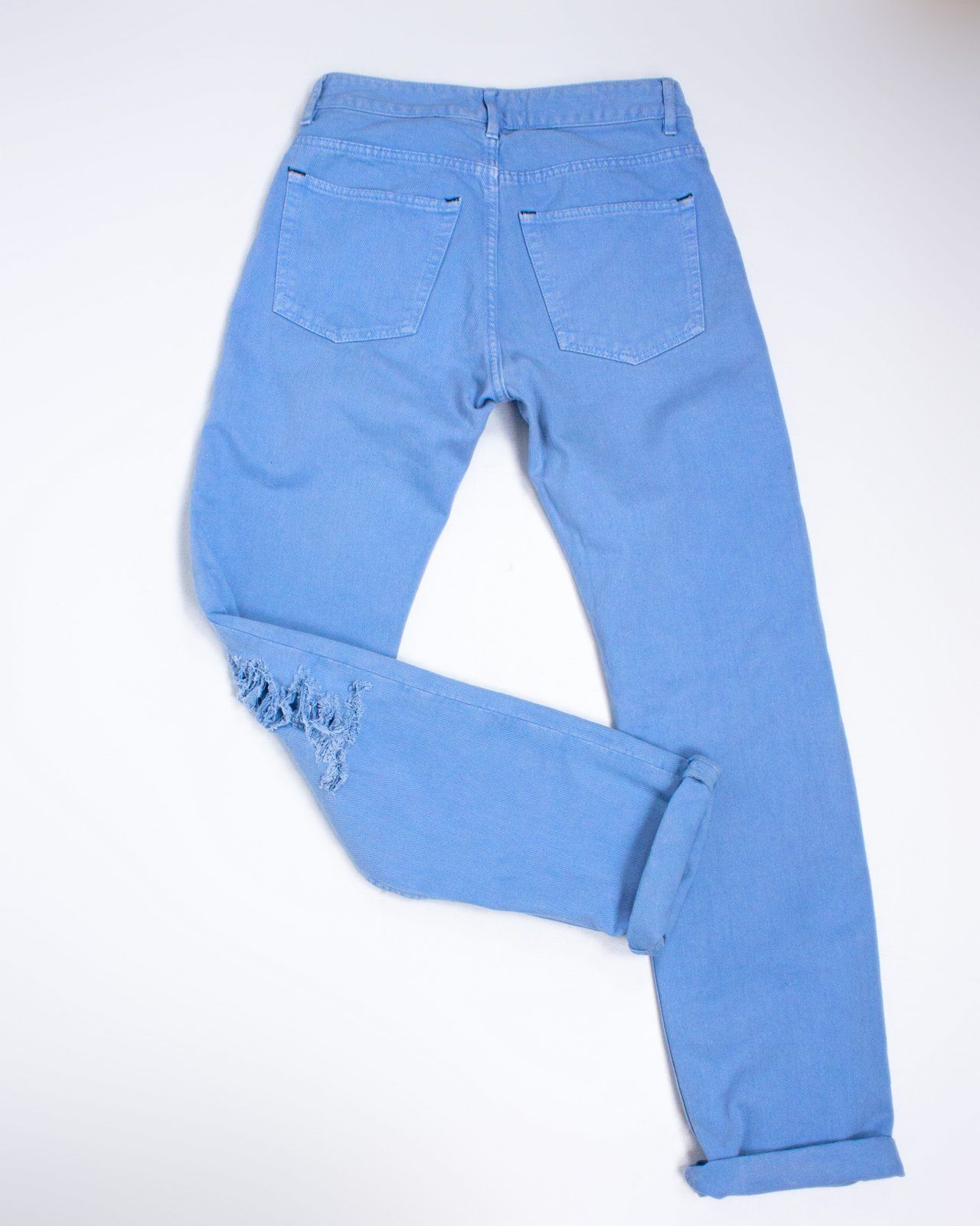 ACNE Boyfriend Ripped/ Destroyed Jeans, SIZE 27/32 - secondfirst