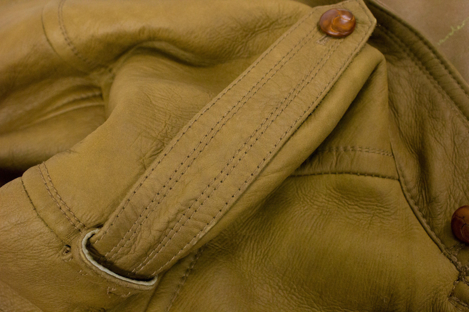 MAX HARDER Long Brown Shearling Leather Coat, EU52, US42 - secondfirst