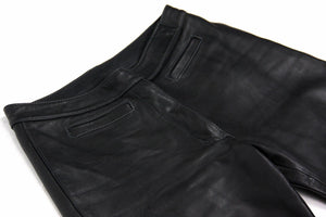 HEIN GERICKE Supple Leather Motorcycle Biker Pants/Trousers, US 4 - secondfirst