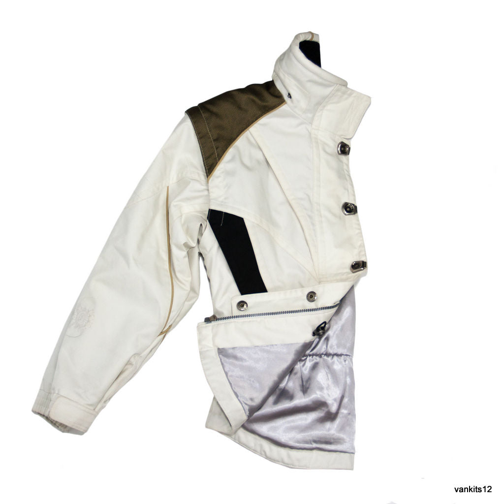 SPYDER Ski/ Snowboard White Jacket/Vest, USA 6/UK 8/EU S - secondfirst