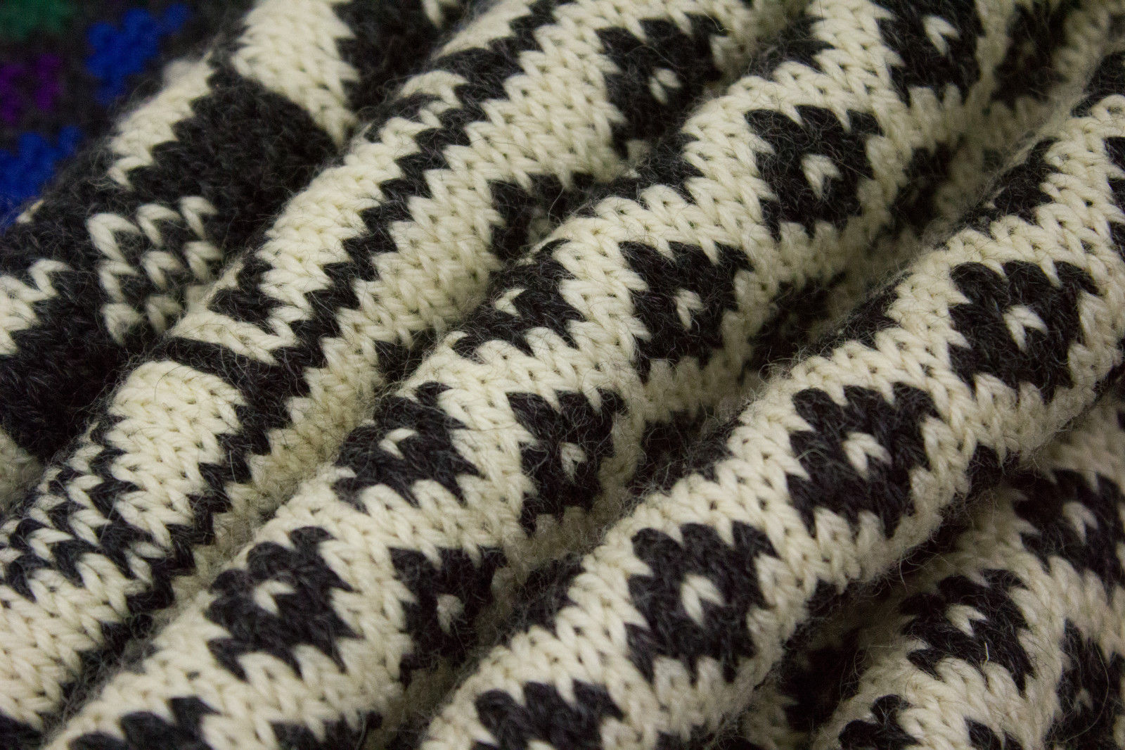 DALE OF NORWAY Chunky Wool Nordic Sweater Size S - secondfirst