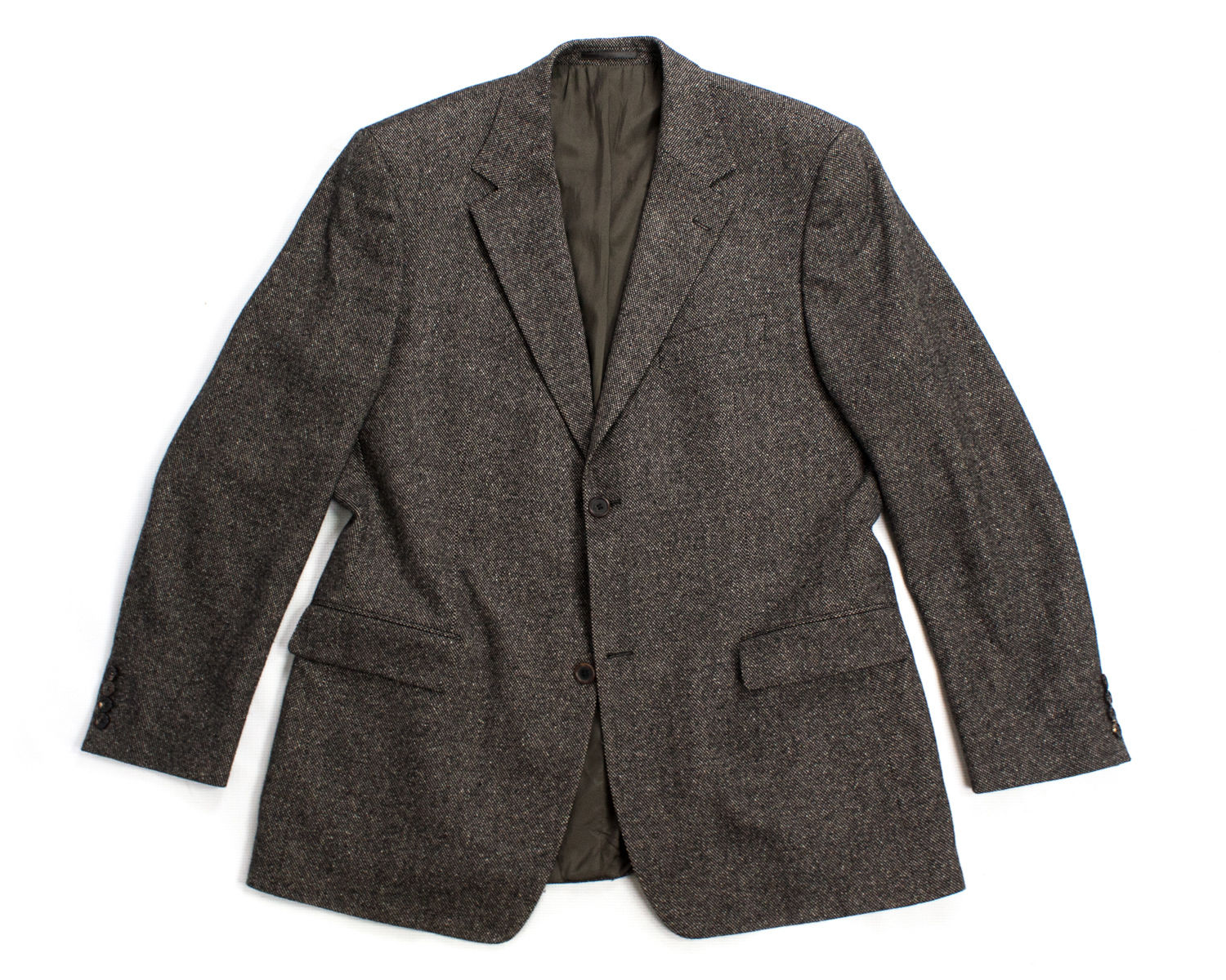 HUGO BOSS Tizian Wool-Silk Stretch 2 Button Blazer US 44R, EUR 54 - secondfirst