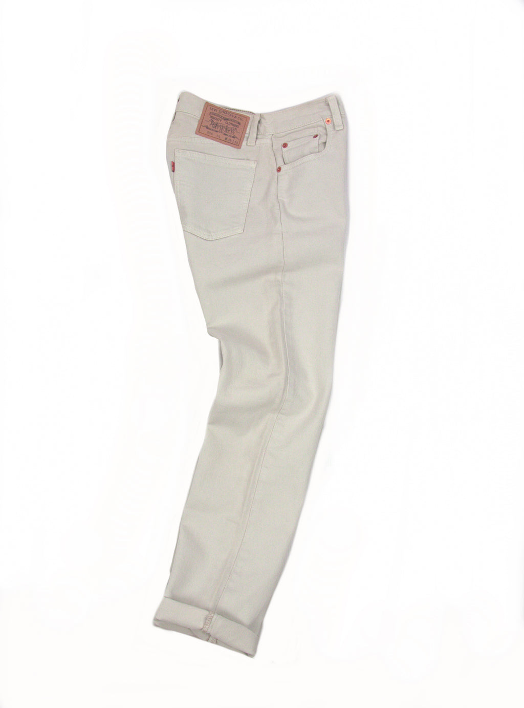 Levi's 805 Vintage Orange Tab Ivory Jeans 28/30 - secondfirst
