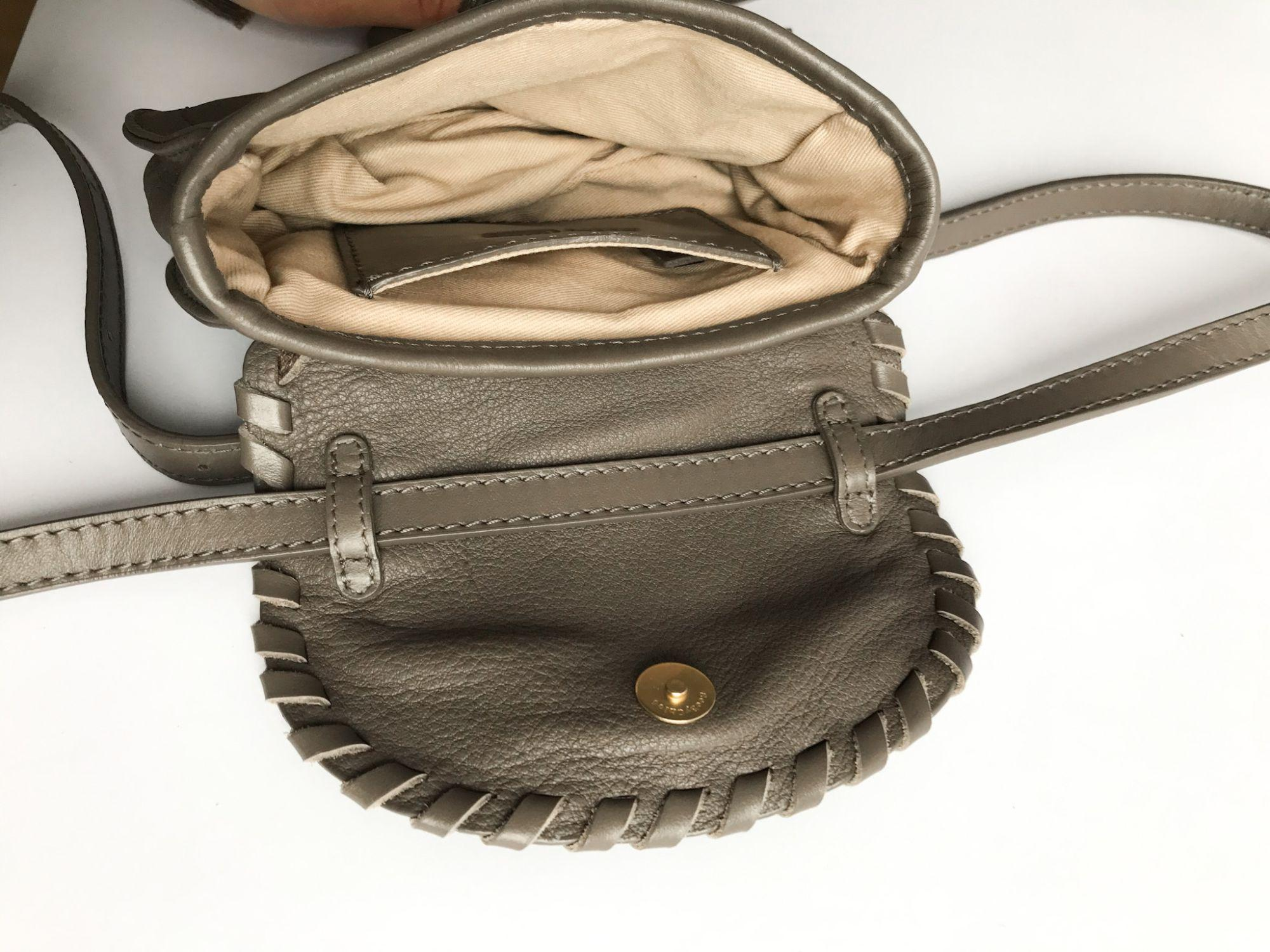 See By Chloe Taupe Leather Crossbody Belt Bag