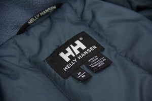 HELLY HANSEN Gray Down Insulated Water Repellent Parka, SIZE M - secondfirst