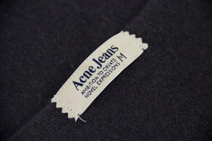 Acne 100% Cashmere Gray Long Shirt Tunic, SIZE M - second_first
