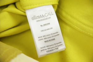 Alice McCall Chelsea Hotel Mini Citrus Dress, Size M