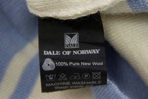 DALE OF NORWAY 100% Wool Zip Neck Sweater, Size S - secondfirst