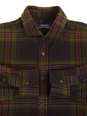 Polo Ralph Lauren Flannel Plaid Shirt, SIZE XL - secondfirst