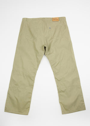 FJALLRAVEN G-1000 Vintage Outdoor Hiking Trousers XXL, EU 58 - secondfirst