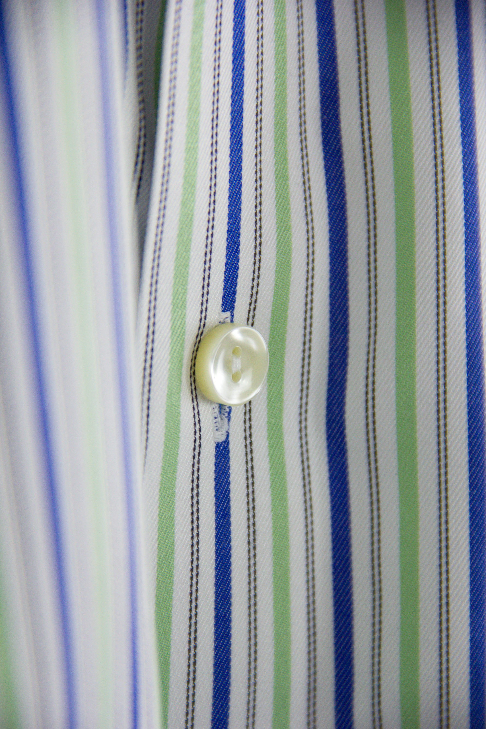 ETON Classic Striped Pointed Collar Tailored Shirt SIZE 38 15 - secondfirst