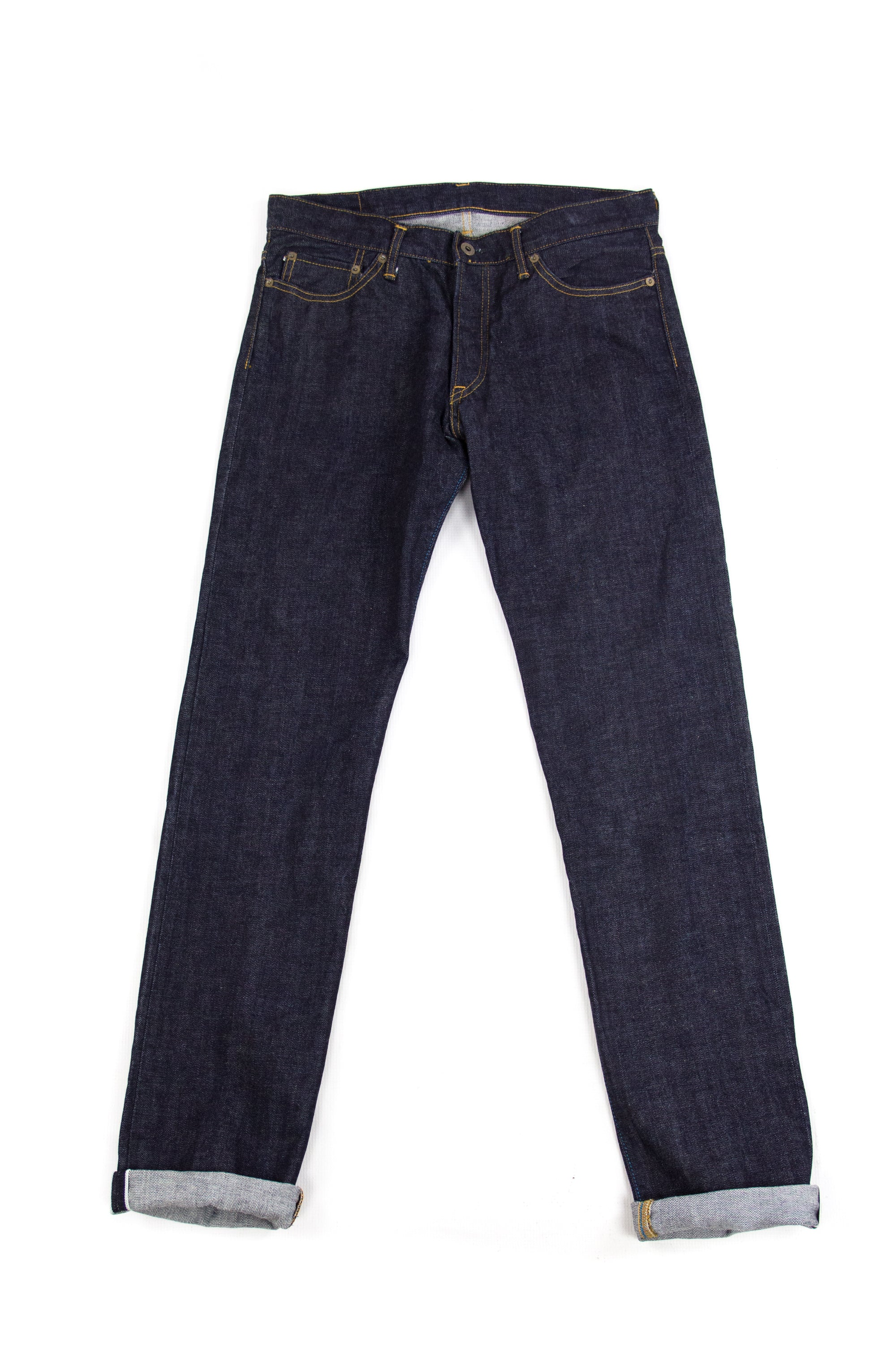 Japan Blue Jeans JBO406 Slim Tapered Sanforized Selvedge W32 - secondfirst