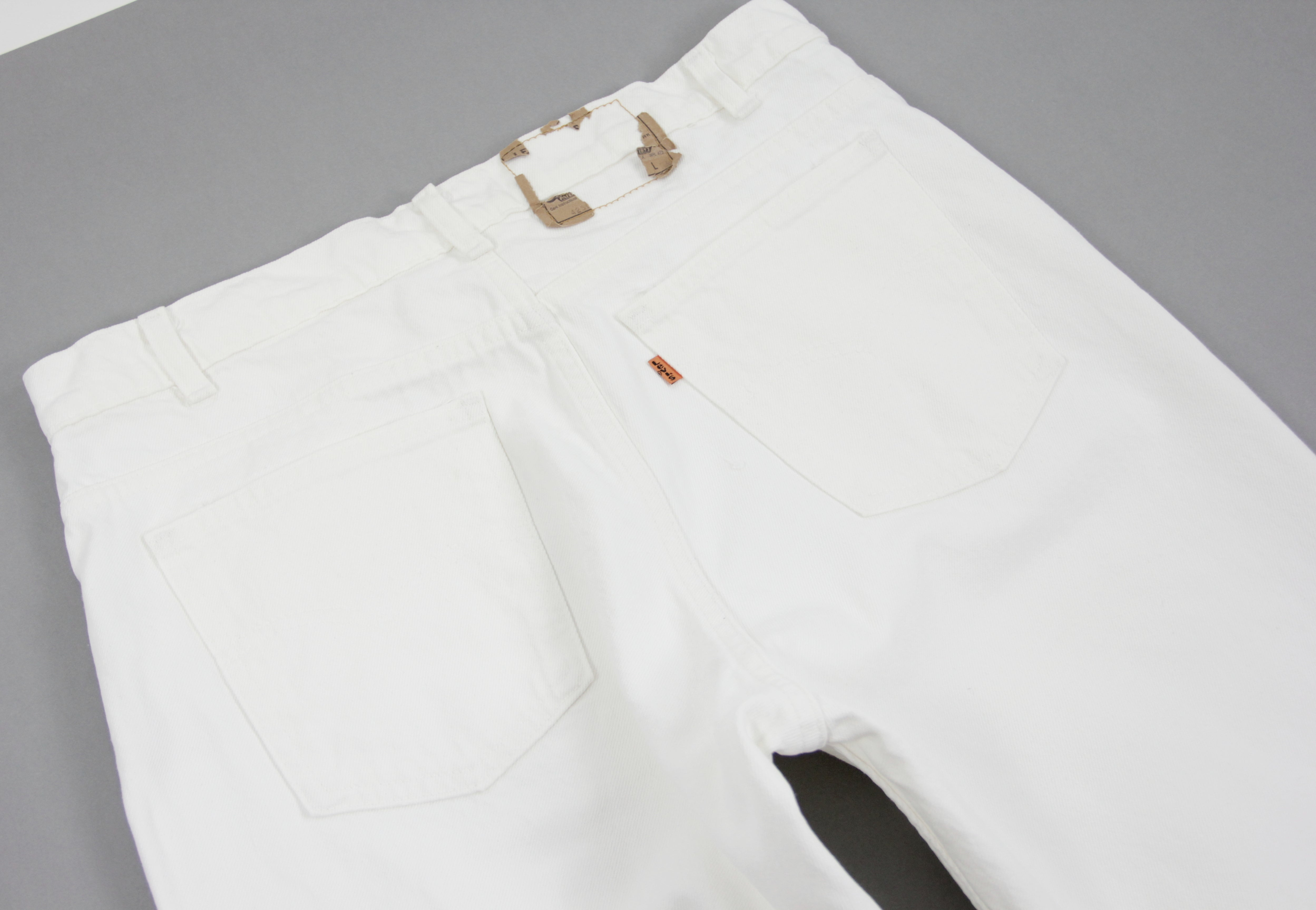 Levi's Men's Vintage Orange Tab White Jeans W34/L32
