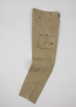Fjallraven Lightweigth Waxed Cotton Outdoor Hiking Trousers, EU 50