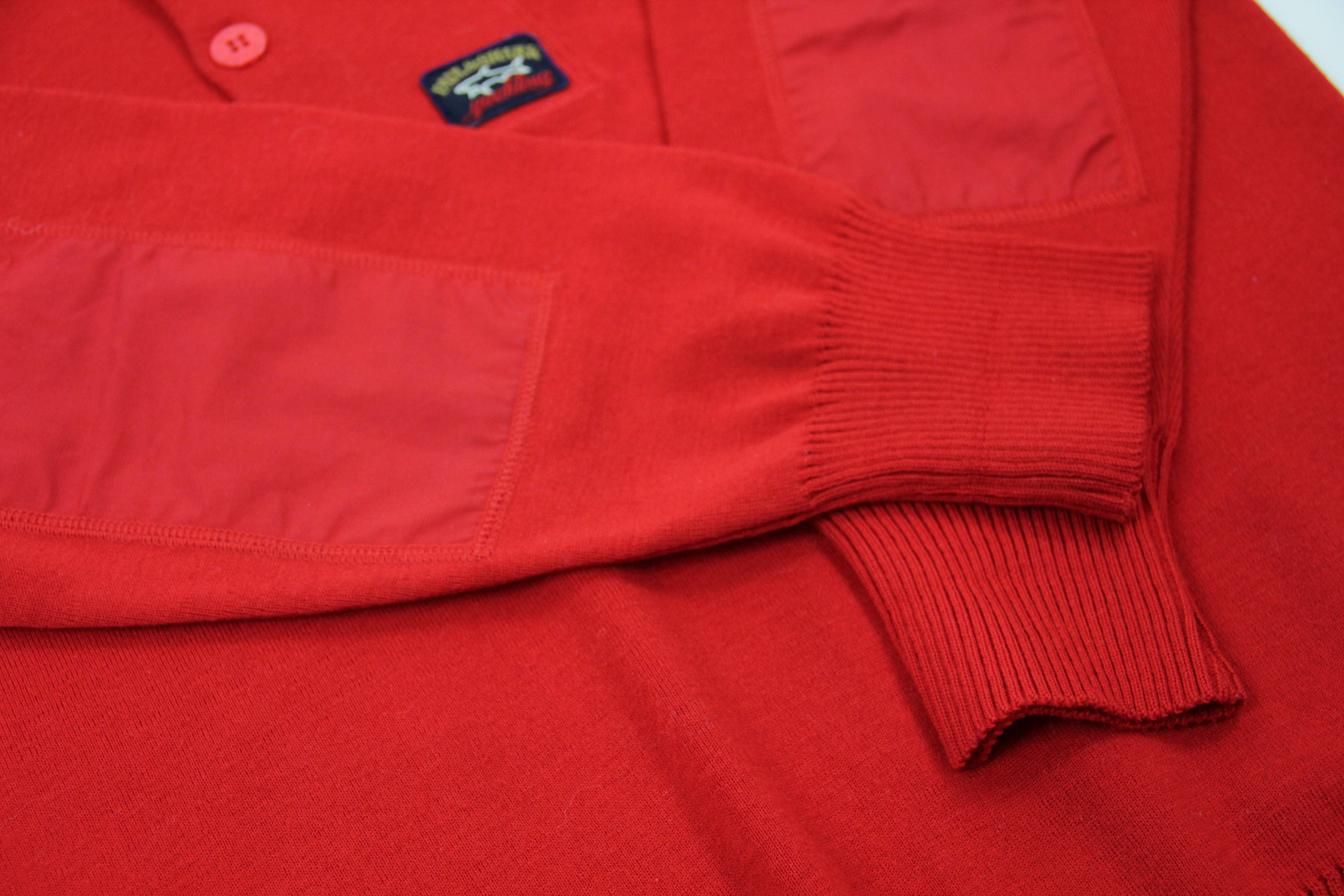 PAUL & SHARK Yachting Men's Red Wool Jumper Sweater