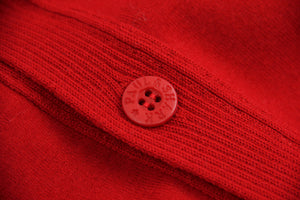 PAUL & SHARK Yachting Men's Red Wool Cardigan, M - secondfirst