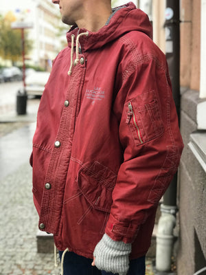 Scotch & Soda Workwear Style Hooded Jacket, M - secondfirst