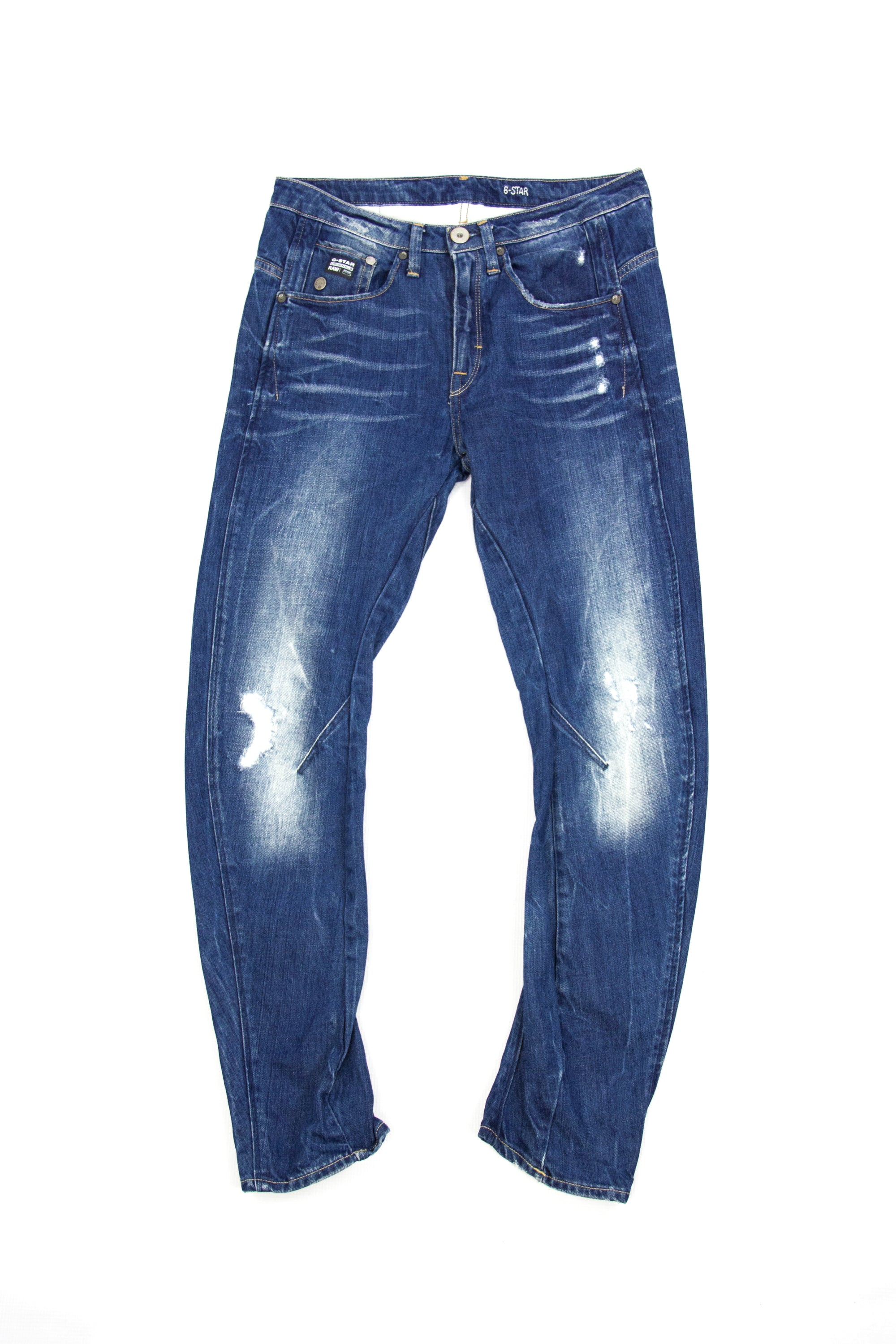 G-Star Raw Tapered Women's Blue Jeans Size 25/32 - secondfirst