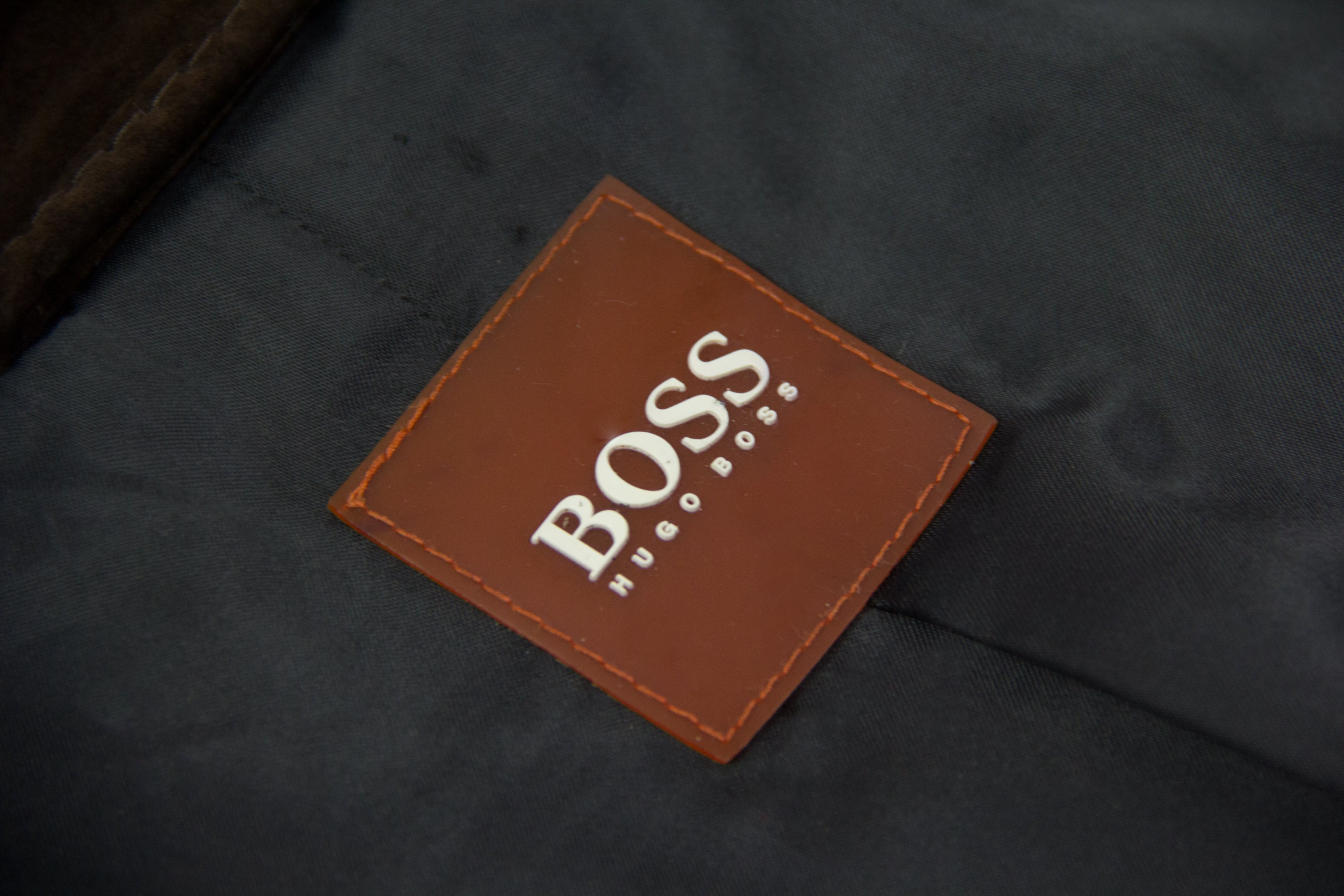 Hugo Boss Orange Label Suede Leather Jacket US 40R, EU 50 - second_first