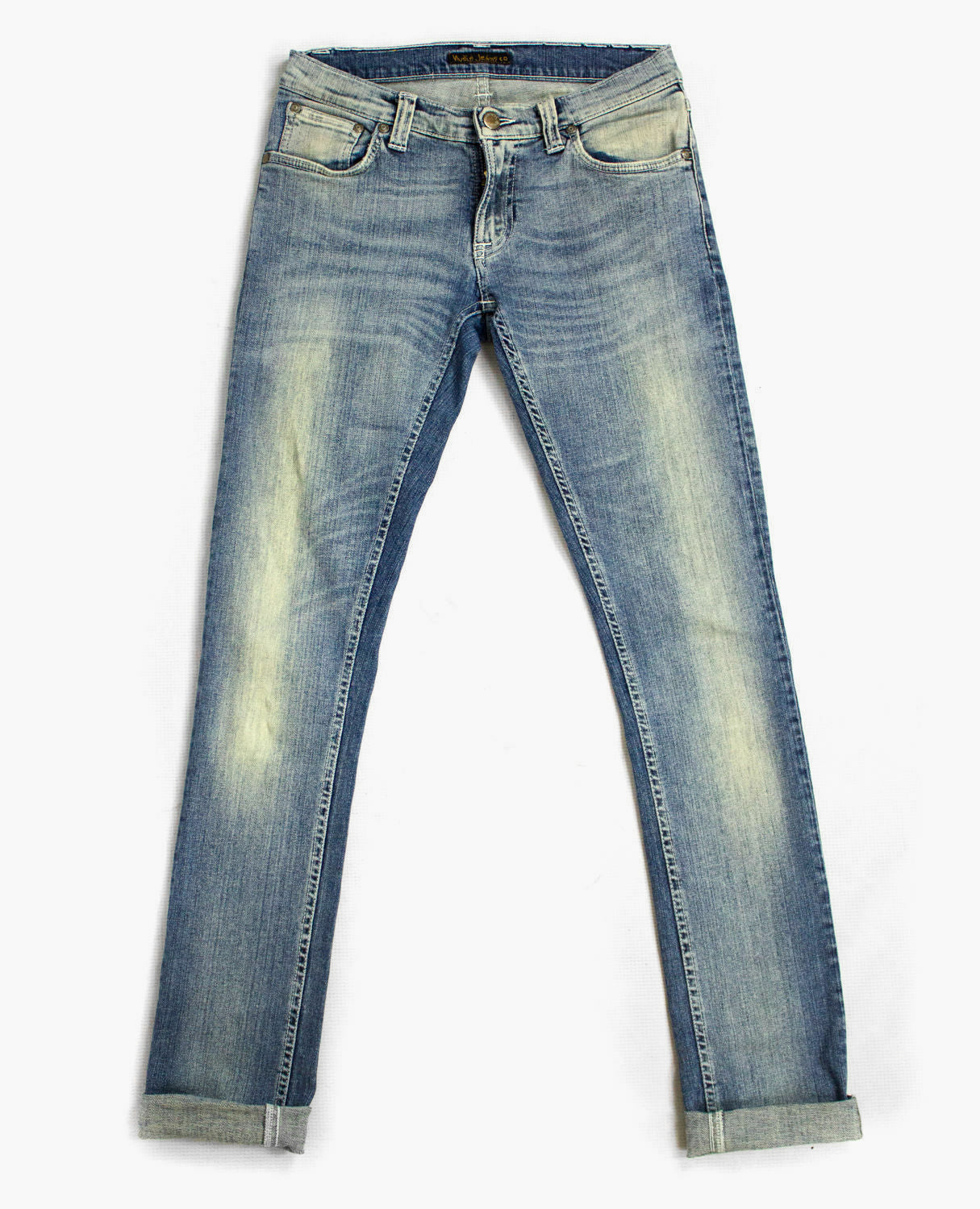 NUDIE JEANS unisex skinny stretch jeans, 26/32 - secondfirst