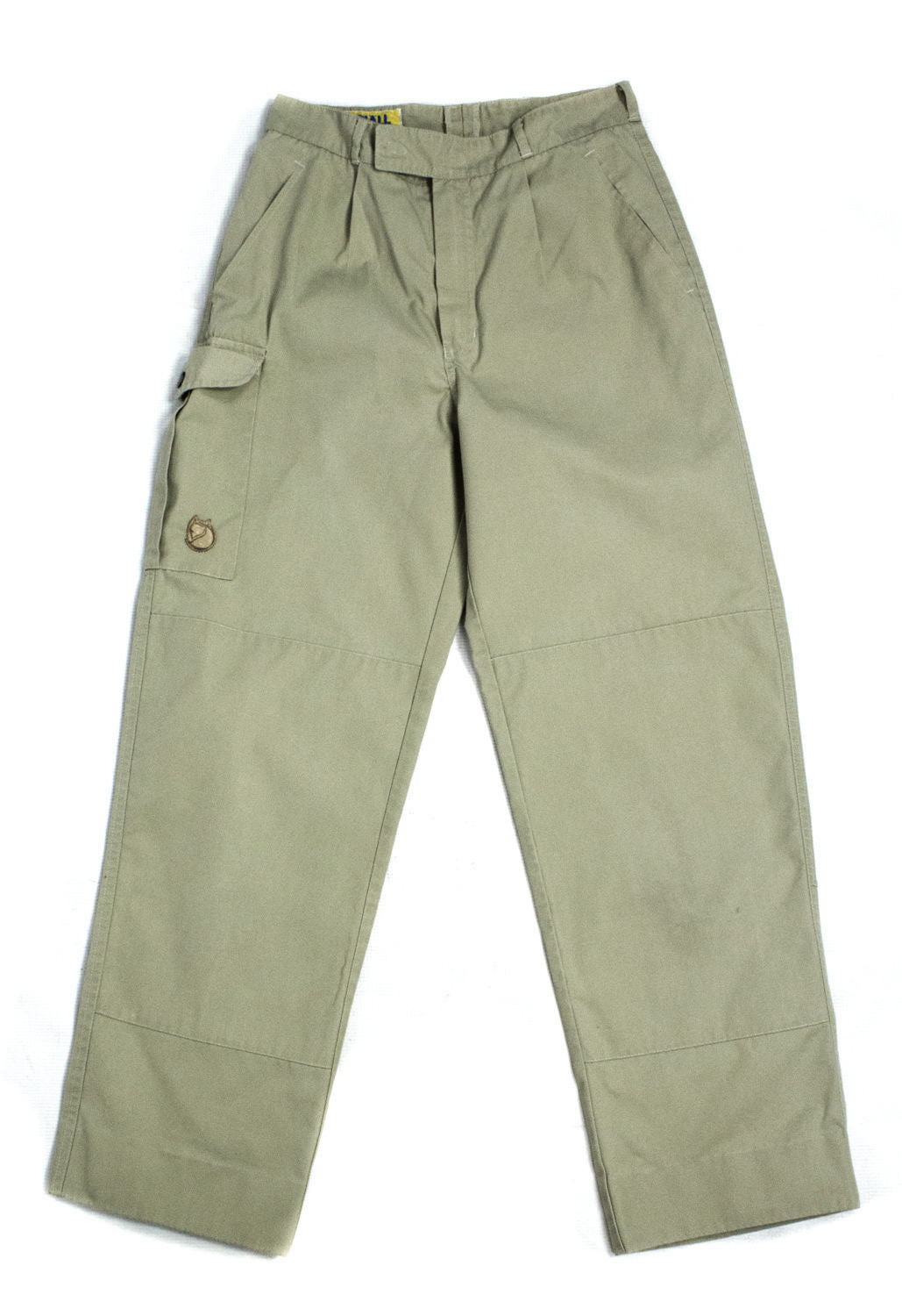 FJALLRAVEN Vintage Women's Khaki Hiking/Outdoor Pants, SIZE XS