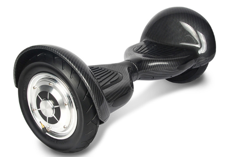 Black 10 Inch Hoverboard With Bluetooth & Remote Control