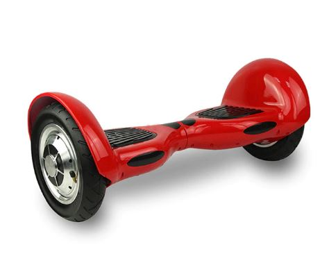 Red 10 Inch Hoverboard With Bluetooth & Remote Control