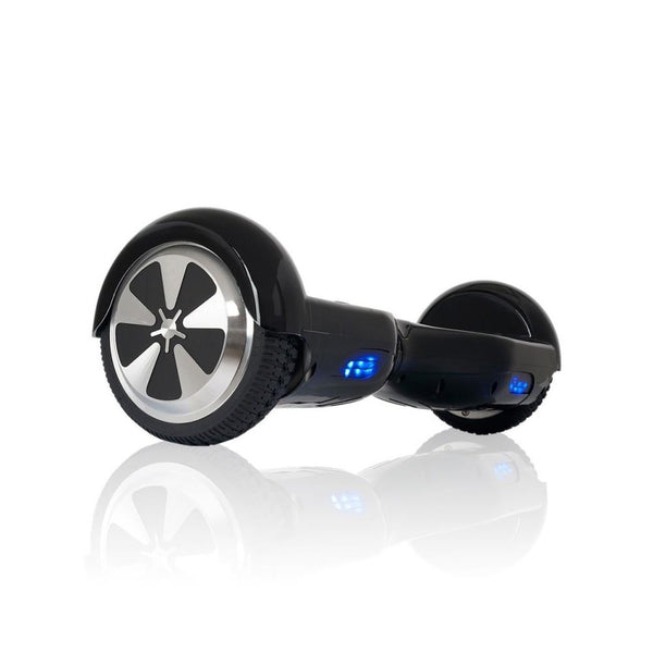 Black Chrome 6.5 Inch Hoverboard With Bluetooth & Remote Control