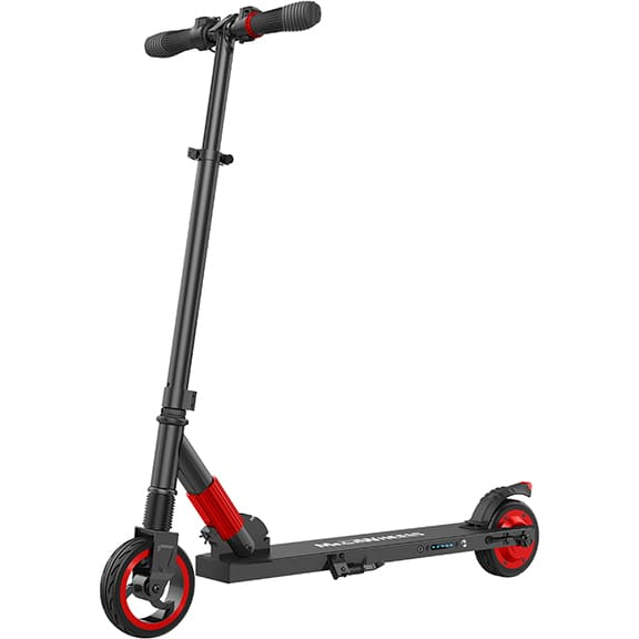 Megawheels S1 Red - Folding Electric Scooter For Teens (Age 10+)